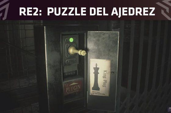 Cómo resolver el puzzle del ajedrez en Resident Evil 2