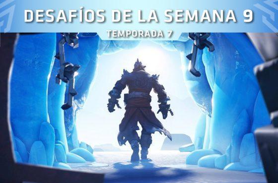Desafíos Semana 9 de Fortnite – Misiones y localizaciones (Temporada 7)