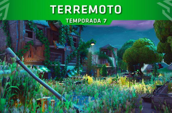 Un terremoto serviría de colofón de la Temporada 7 de Fortnite: Battle Royale