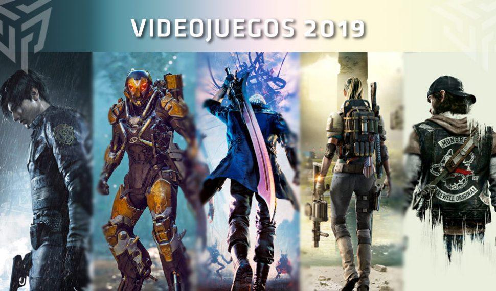 Estos son los videojuegos que llegarán en el año 2019