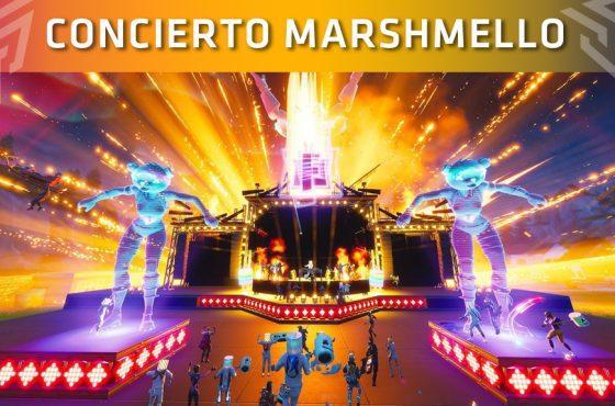 El concierto de Marshmello en Fortnite reúne a más de 10 millones de jugadores