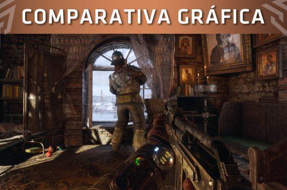 Comparación de Metro Exodus en PlayStation 4 Pro, Xbox One X y PC