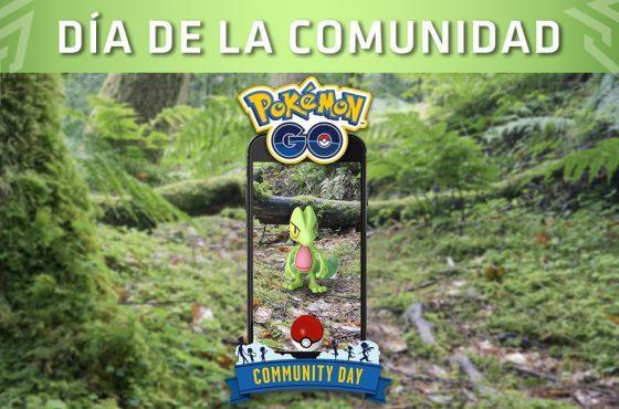 Pokémon Go: El Día de la Comunidad de marzo tendrá a Treecko como protagonista