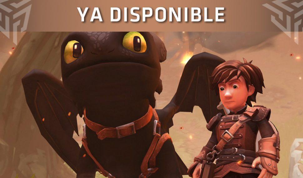 Dragons Dawn of New Riders ya está disponible para PlayStation 4, Xbox One y Nintendo Switch