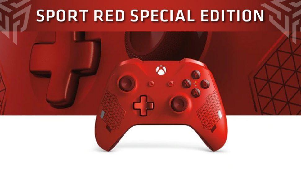 """Microsoft presenta su nuevo mando """"Sport Red Special Edition"""""""