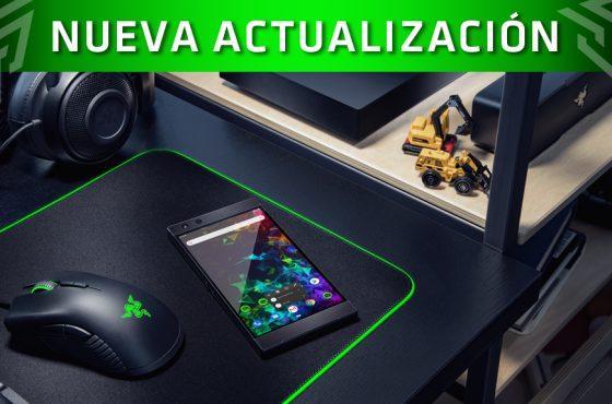 La actualización Android 9.0 Pie llega al Razer Phone 2