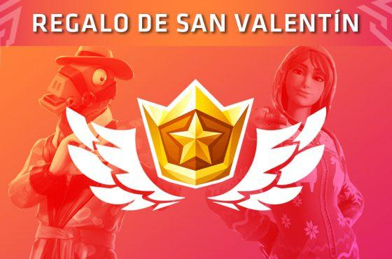 Fortnite: Battle Royale «regala» su Pase de Batalla por San Valentín