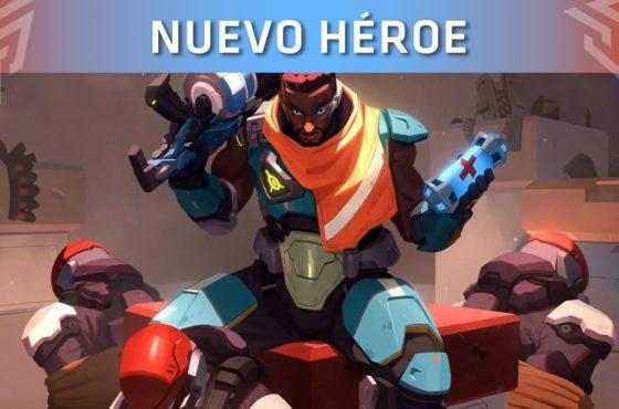 Overwatch presenta el tráiler de orígenes de su nuevo héroe: Baptiste