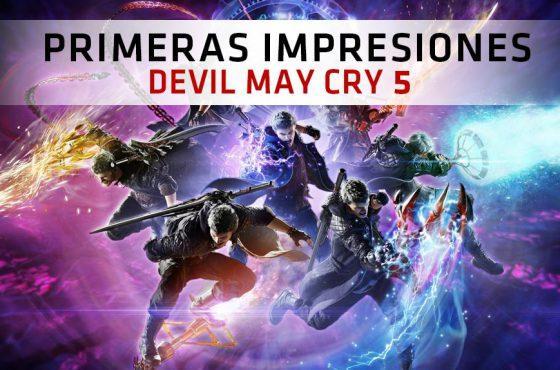 Primeras Impresiones de Devil May Cry 5 – ¡Jugamos con Nero, Dante y V!