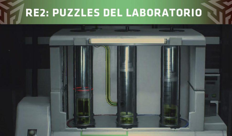 Resident Evil 2 Remake: Cómo resolver los puzzles del laboratorio