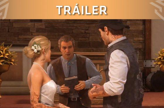 Days Gone lanza un tráiler centrado en la boda de Deacon y Sarah