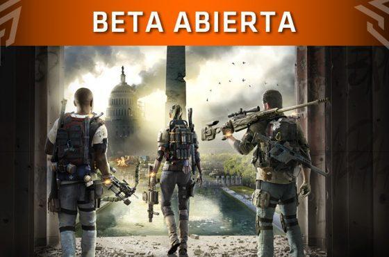 La Beta Abierta de The Division 2 ya tiene fecha de lanzamiento