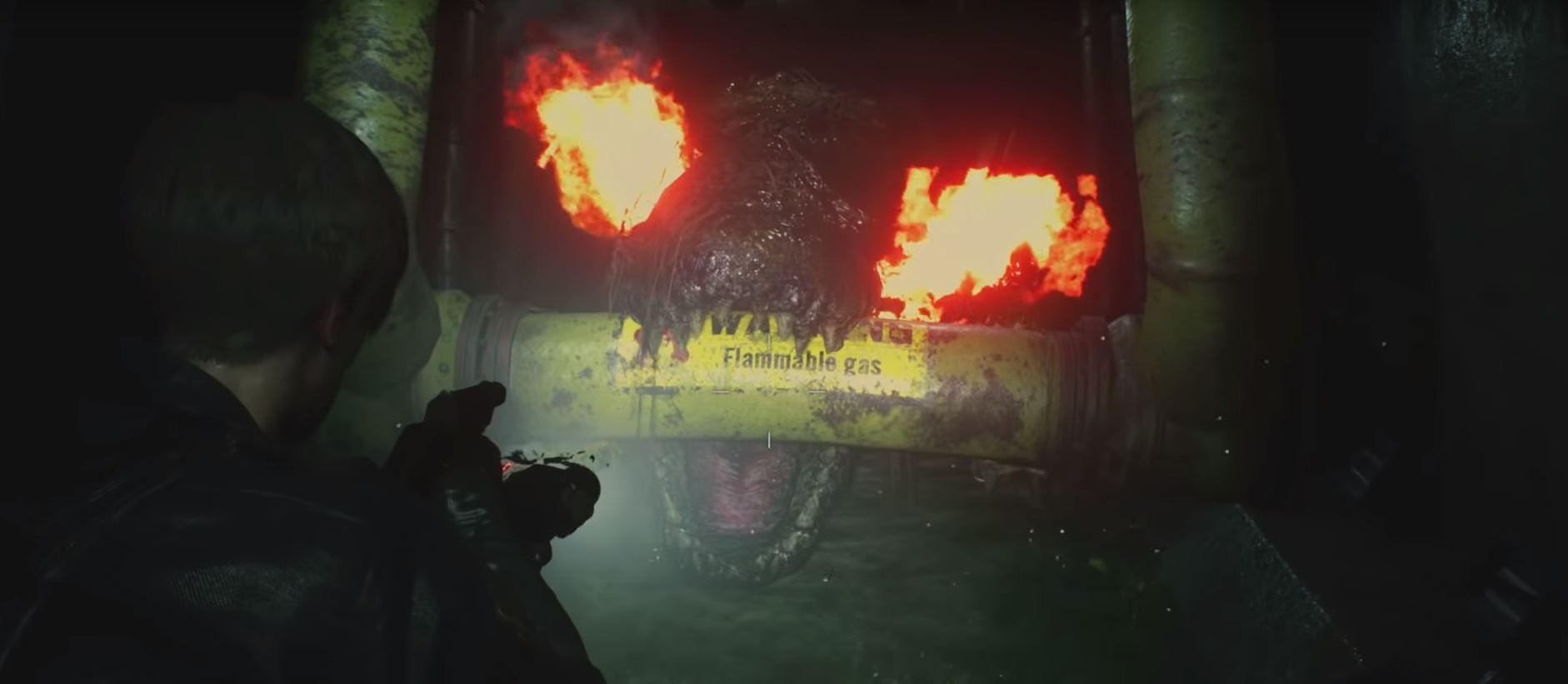 cocodrilo resident evil 2 remake