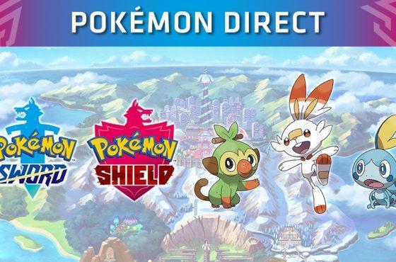 Nintendo presenta Pokémon: Espada y Escudo en el Pokémon Direct