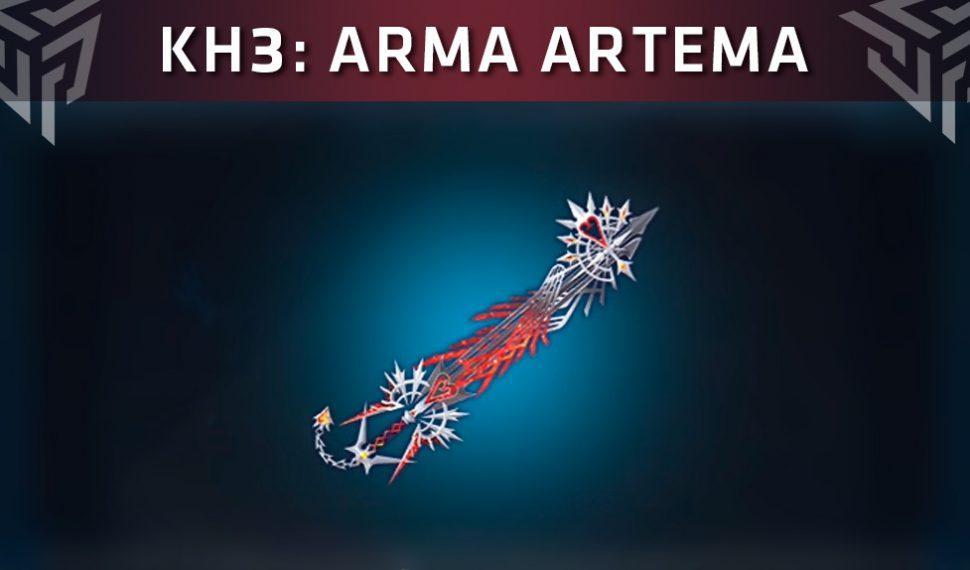Kingdom Hearts 3: Cómo desbloquear el Arma Artema