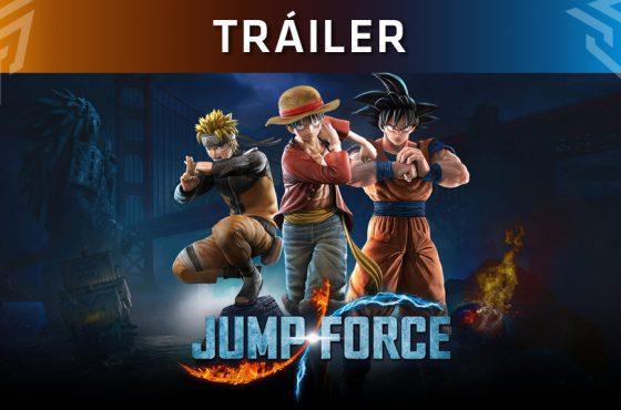 Así es el nuevo tráiler de Jump Force protagonizado por Jotaro Kujo y Dio Brando