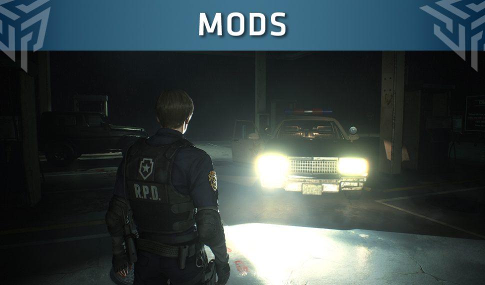 Resident Evil 2 Remake cuenta con un mod que mejora la iluminación
