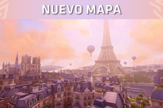 """El nuevo mapa """"París"""" ya está disponible para los jugadores de Overwatch"""