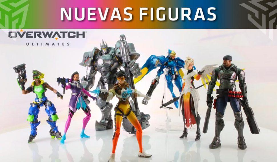 Estas son las nuevas figuras articulables de Overwatch