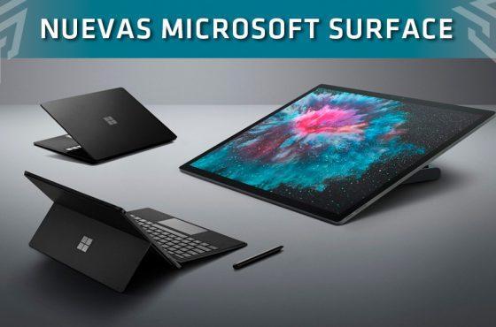 Así son los nuevos productos Surface de Microsoft: Para todos los públicos