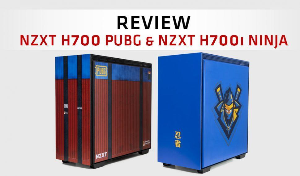 """Review de las Cajas NZXT H700i """"Ninja"""" y NZXT H700 """"PUBG"""" – Edición Limitada"""