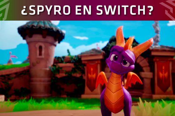 Spyro Reignited Trilogy aparece listado para Nintendo Switch