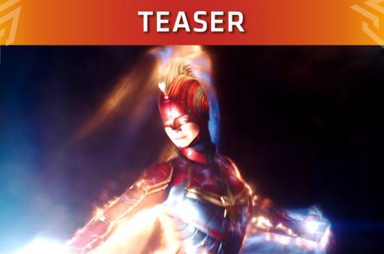 ¡Así es el nuevo teaser de Capitana Marvel!