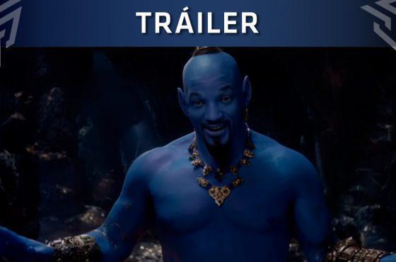 El nuevo tráiler de Aladdín muestra a Will Smith como Genio