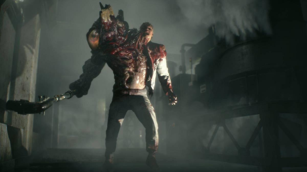 william birkin primera forma resident evil 2 remake