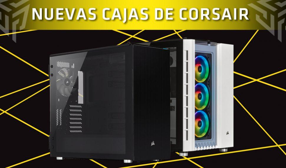 Corsair lanza los chasis Crystal Series 680X RGB y Carbide Series 678C
