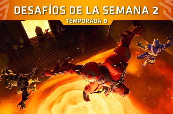 Desafíos Semana 2 de Fortnite (Temporada 8) – Misiones y localizaciones