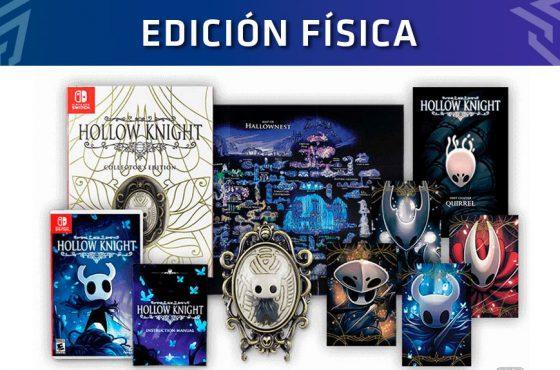 Hollow Knight: Así es su edición física y su edición coleccionista