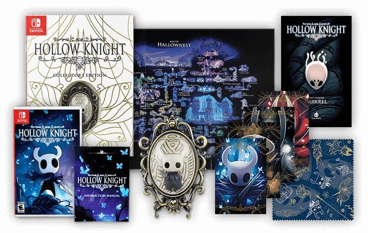 edicion fisica hollow knight coleccionista