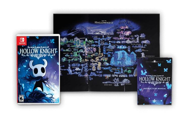 edicion fisica hollow knight estandar
