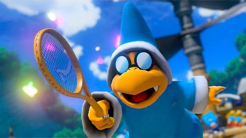 Kamek, es el nuevo personaje para Mario Tennis Aces