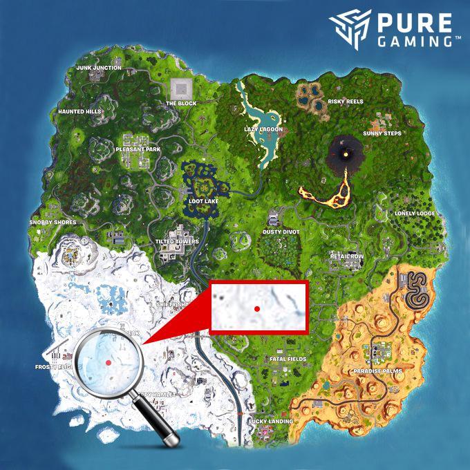 desafios semana fortnite mapa tesoro