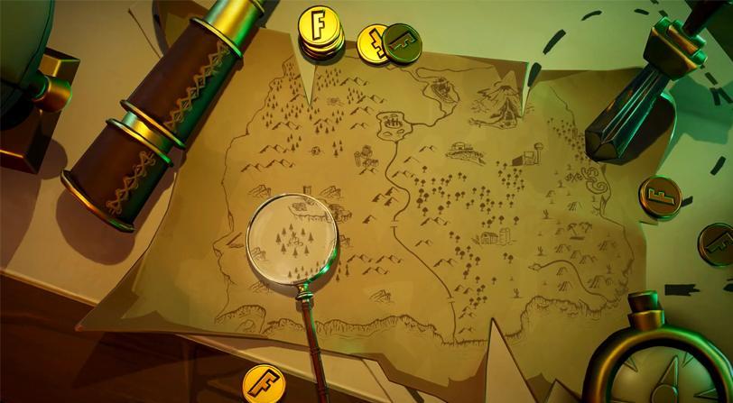 desafios semana fortnite mapa tesoso 2