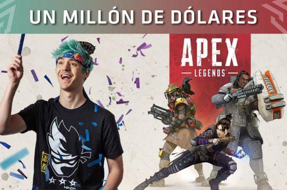 El streamer Ninja podría haber ganado 1 millón de dólares por promocionar Apex Legends