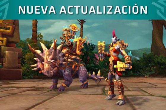 El 13 de marzo llega el nuevo parche 8.1.5 de World Of Warcraft ¿Kul tirano o zandalari?