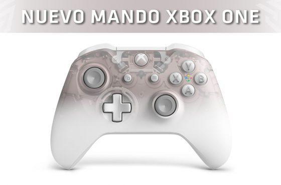 Microsoft presenta el nuevo mando de Xbox One… ¡Semitransparente!