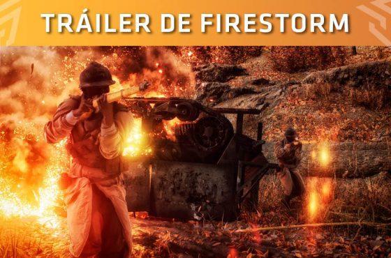 Battlefield V presenta el primer tráiler de Firestorm, su modo Battle Royale
