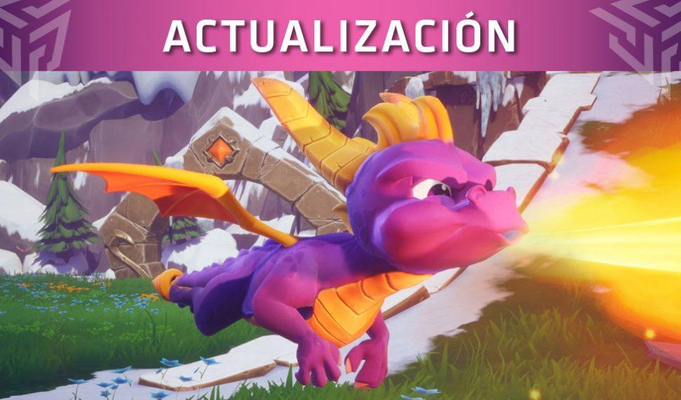 Spyro Reignited Trilogy se actualiza con una característica muy solicitada por los fans