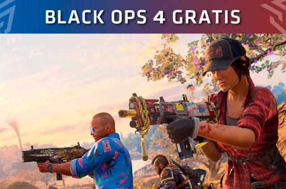 El multijugador de Call of Duty: Black Ops 4 será gratuito este fin de semana