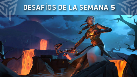 Desafíos de la Semana 5 de Fortnite: Battle Royale (Temporada 8)