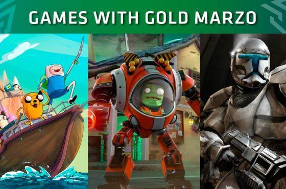 Xbox Live Gold: Juegos gratuitos del mes de marzo