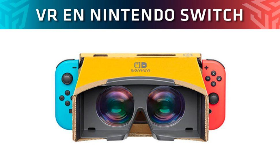 Nintendo presenta su Kit VR para Nintendo Labo