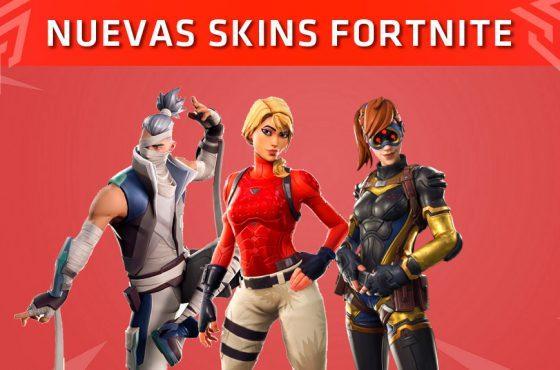 Así son las nuevas skins que llegarán a Fortnite (Marzo 2019)