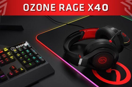 """Ozone presenta sus nuevos cascos gaming """"Rage X40"""""""