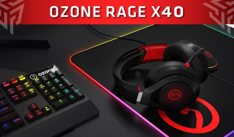 Ozone presenta sus nuevos cascos gaming «Rage X40»