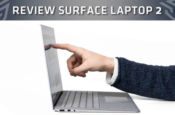 Review de Microsoft Surface Laptop 2 – Calidad elevada al infinito
